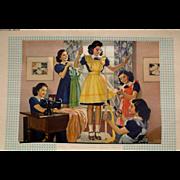Dionne Quintuplets Calendar 1947