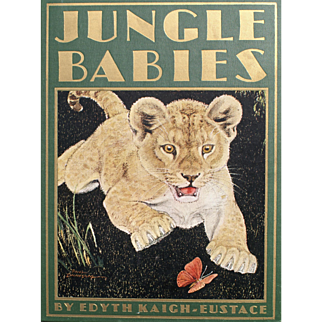 """""""Jungle Babies"""" Book for Young Readers 1930, 1932"""