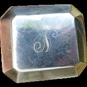Vintage Sterling Silver Ring Box - Henry Birks & Sons