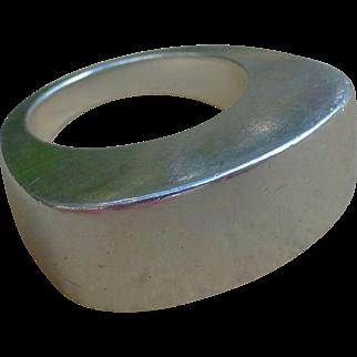 Joachim S'Paliu  Sterling Silver Modernist Ring - Circa 1970's