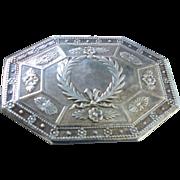 Antique French Trinket/Snuff Box 950 Silver