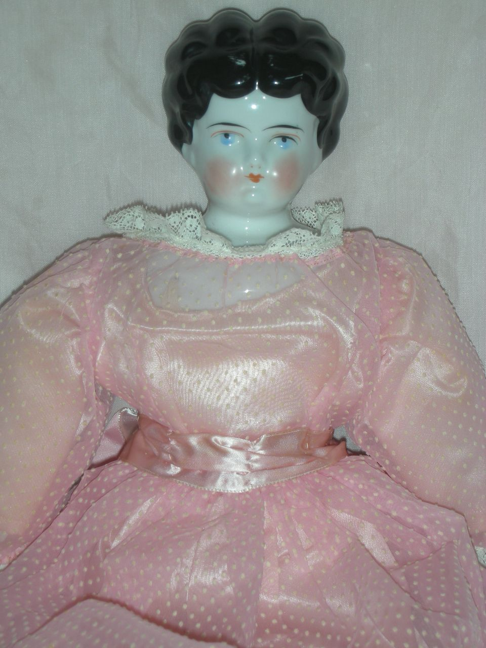 Vintage China Head Doll