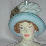 Cameo Girls Judith Transatlantic Lady Head Vase