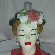 Cameo Girls Eve Tea Party Head Vase