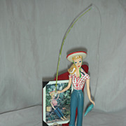 Enesco Barbie Figurine Picnic
