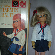 Vintage Charmin Chatty Cathy Doll with Box by Mattel