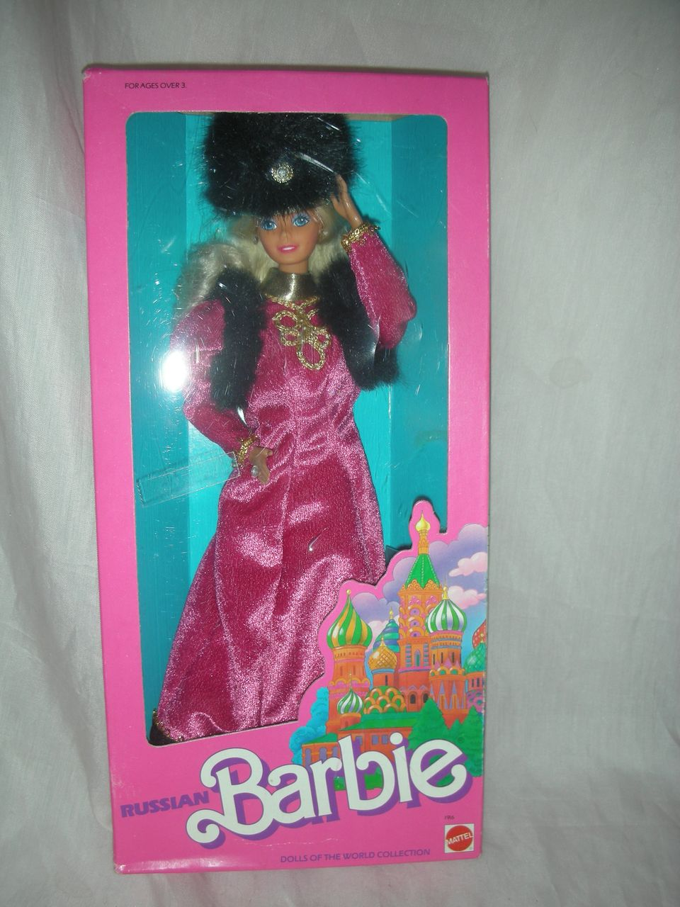 Vintage Russian Superstar Barbie Doll NRFB