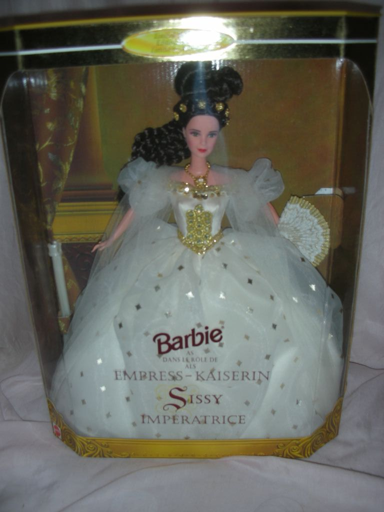Barbie as Empress-Kaiserin Sissy Imperatrice doll NFRB