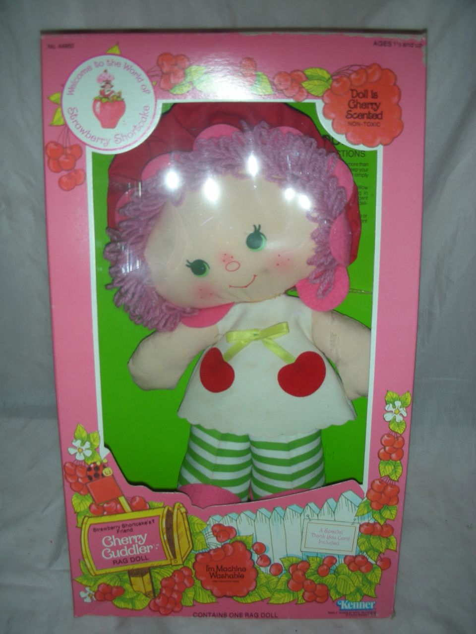 Vintage Strawberry Shortcake Cuddler Rag Doll NRFB
