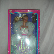 Vintage Superstar Crystal Barbie Doll NRFB