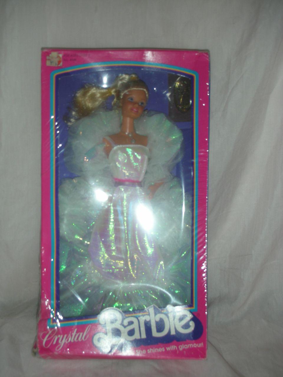 Vintage Superstar Crystal Barbie Doll NRFB