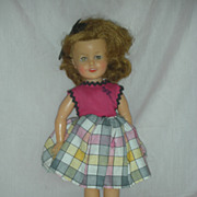 Vintage Ideal Vinyl Shirley Temple Doll 1950s
