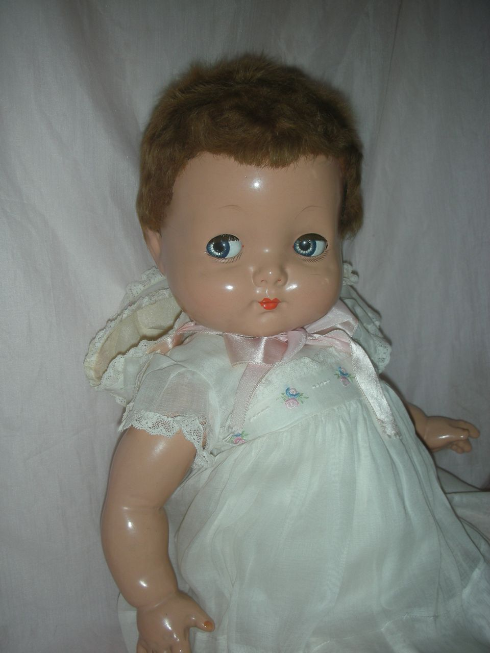 Vintage Effanbee All Composition 22 Inch Sweetie Pie Doll