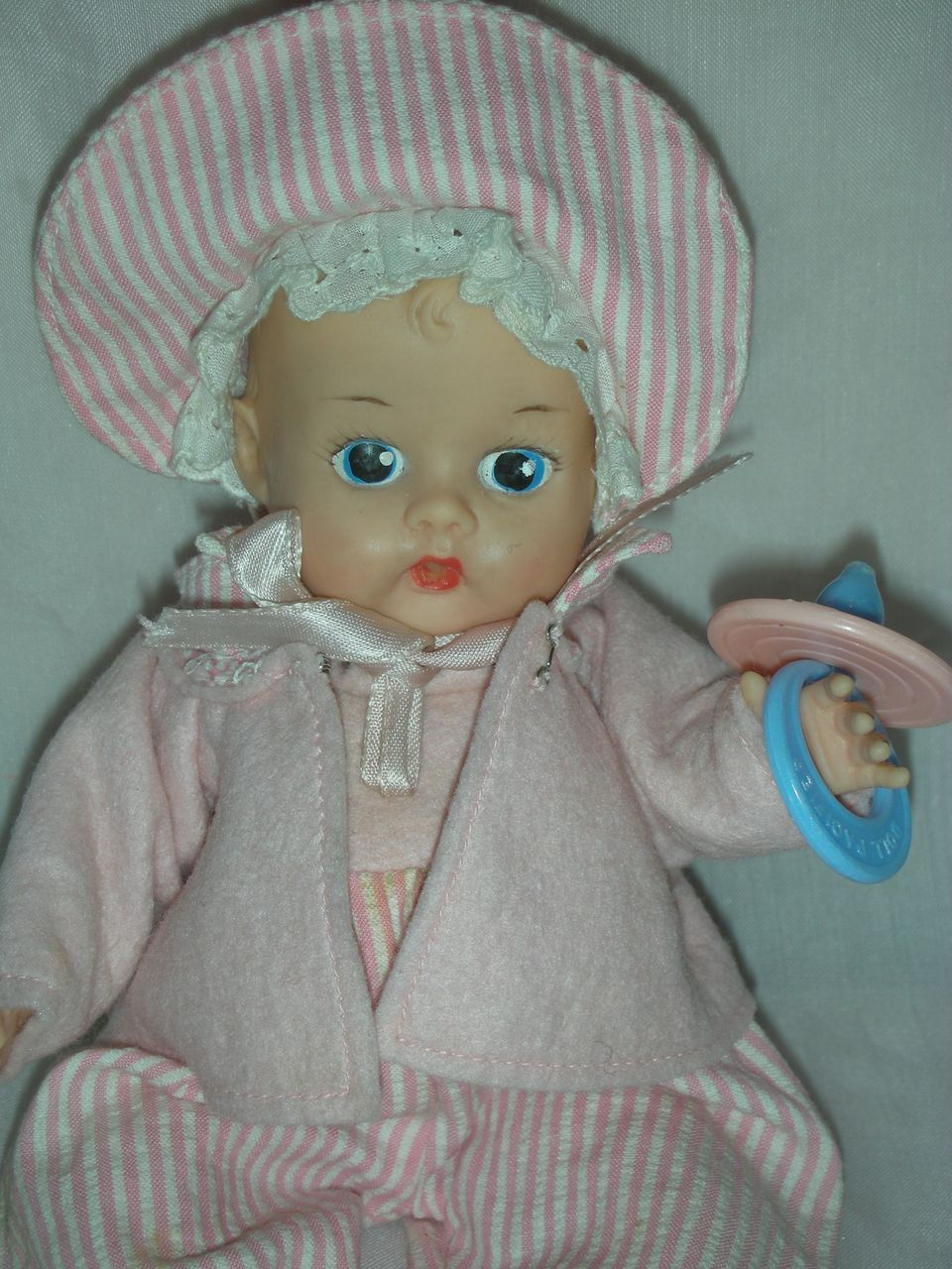 Early Vintage Vogue Ginnette Doll Painted Eye Ginny Doll