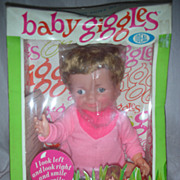 Vintage Ideal Baby Giggles Doll NRFB
