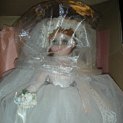Vintage Madame Alexander Elise Bride Doll Mint in Box