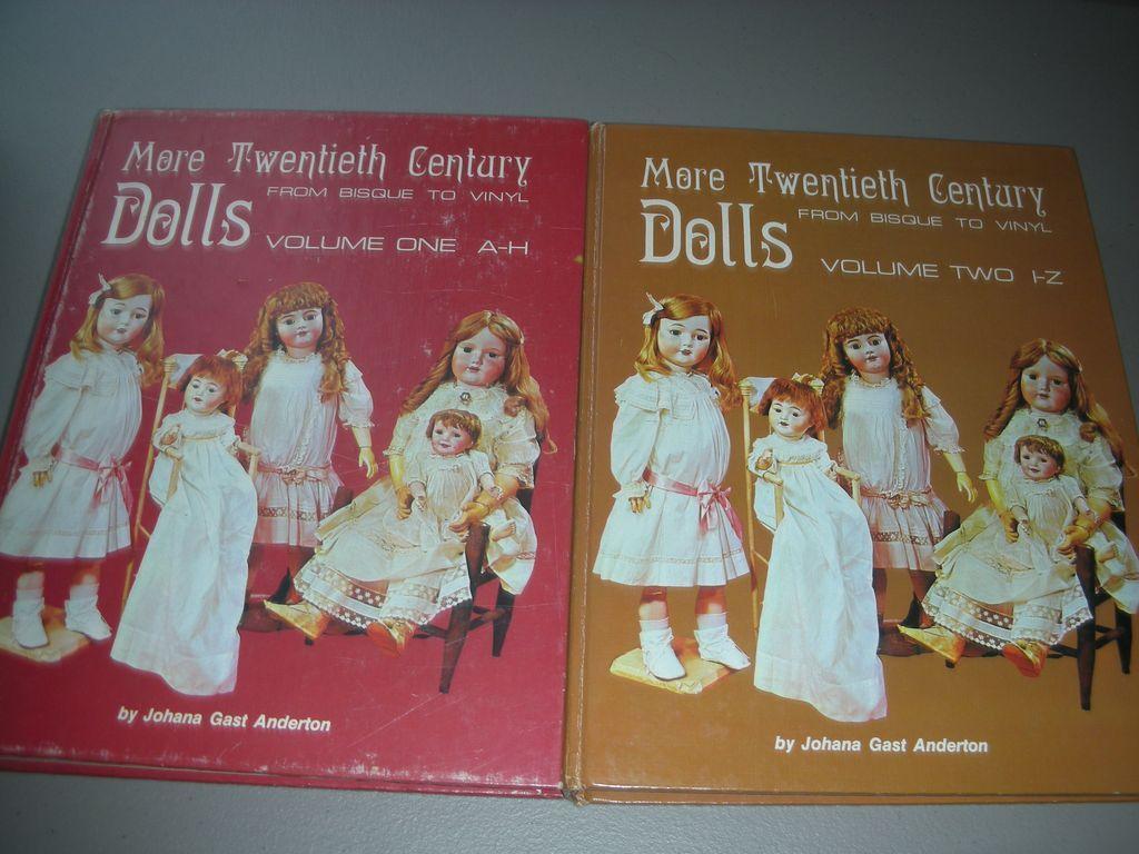 More Twentieth Century Dolls From Bisque to Vinyl Volume 1 & 2