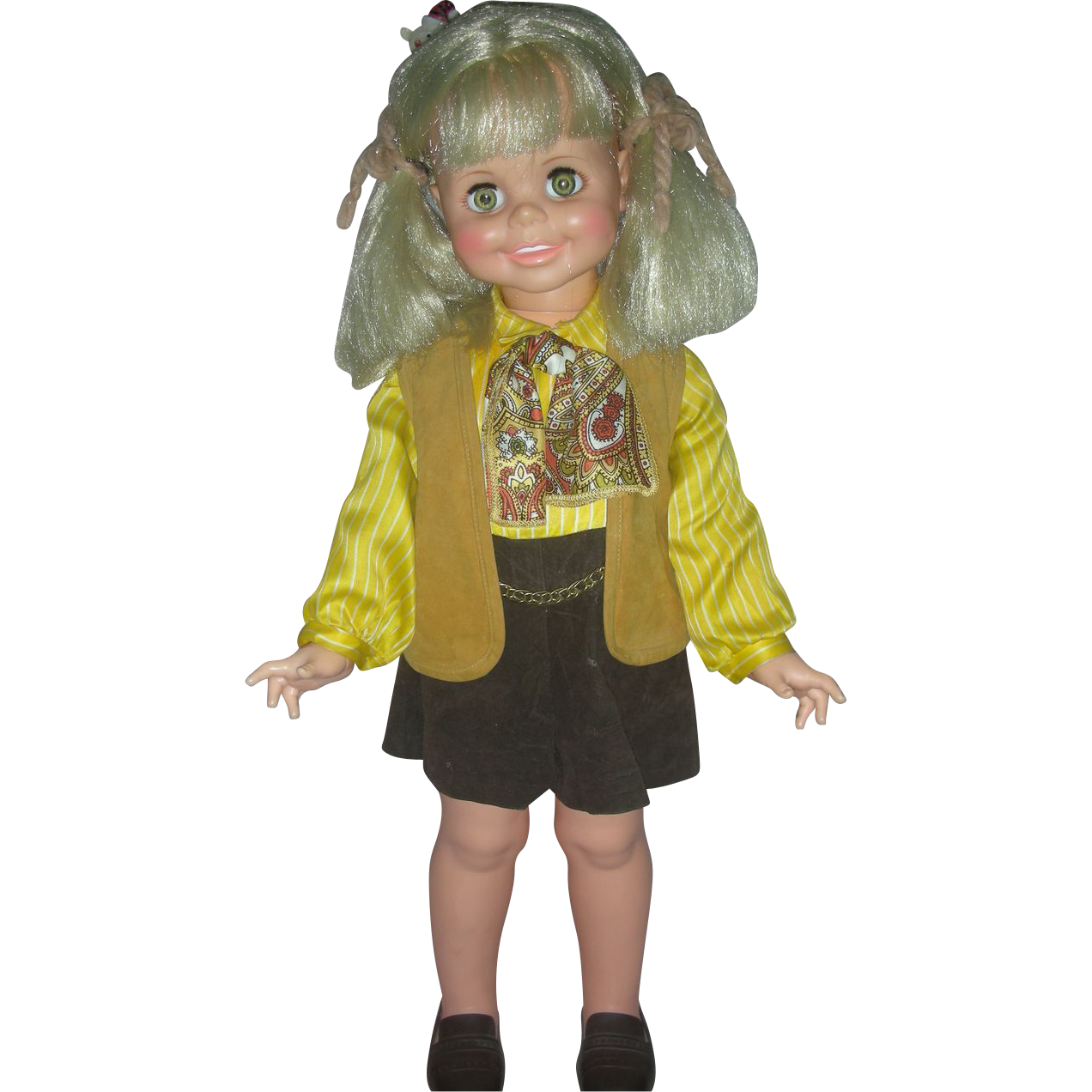 Vintage Ideal Betty Big Girl Playpal Doll 1960s