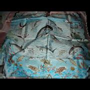Rare Hermes La Vie Precieuse de la Mediterranee Silk Scarf with Box
