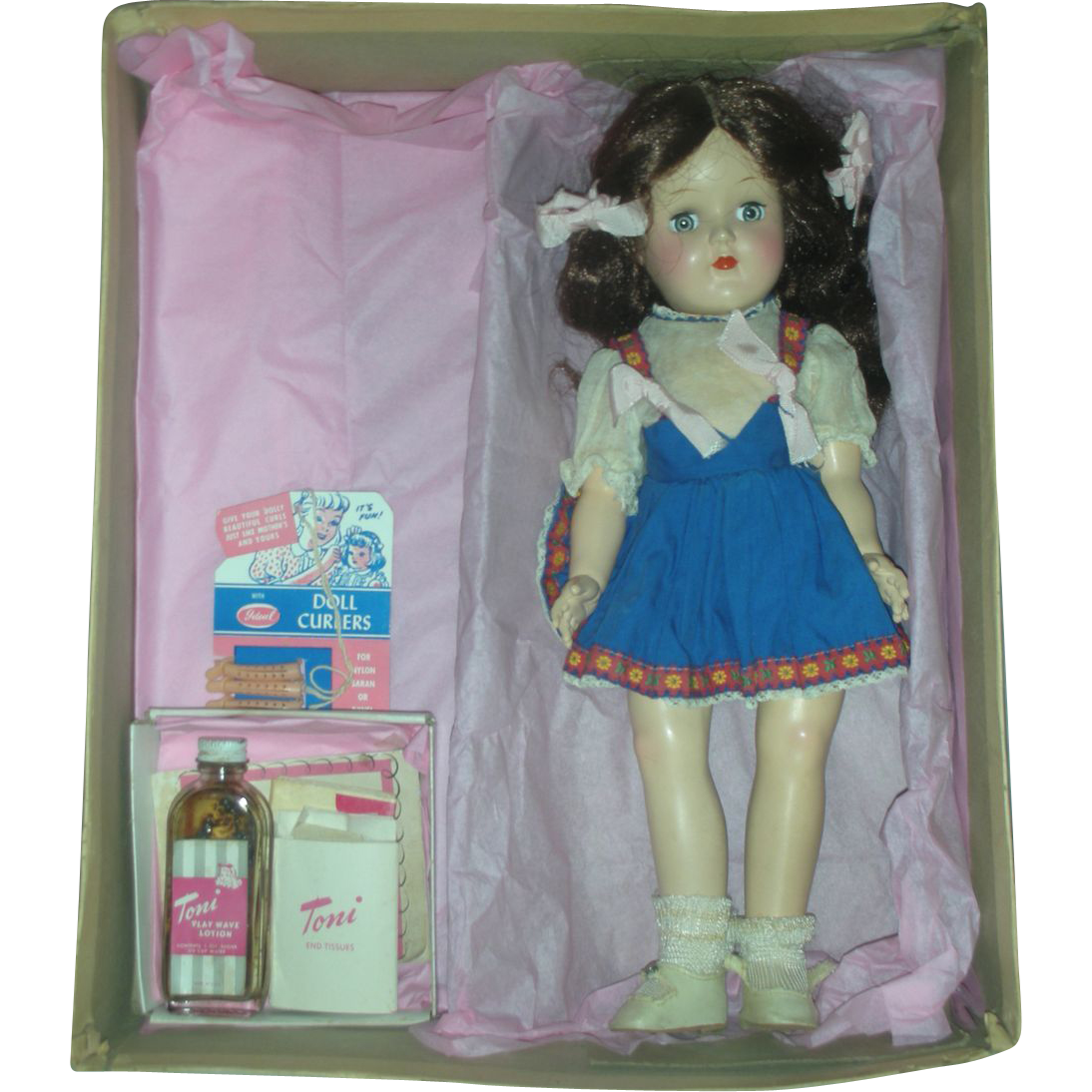 Vintage Ideal Toni Doll in Original Box