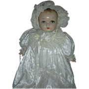Vintage Princess Beatrix Composition Doll Compo Baby by Horsman