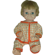 Vintage Uneeda Blabby Doll 1962 Cries Character Dolls