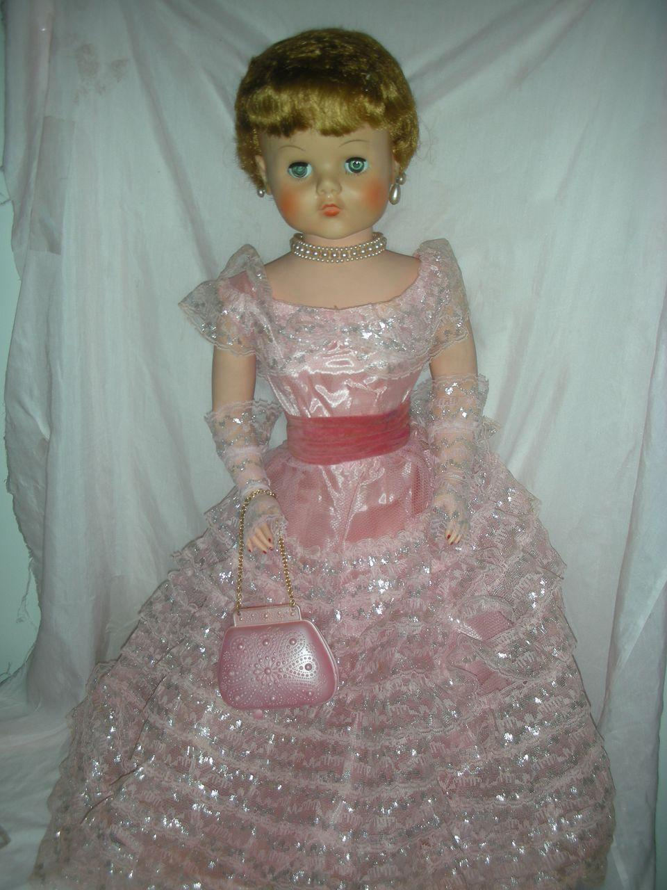 Vintage Deluxe Reading Sweet Rosemary Fashion Doll 30 Inch