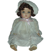 Beautiful Vintage Madame Alexander Doll Little Genius 22 inch Mama Doll
