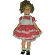 Vintage Ideal Shirley Temple Doll Vinyl 15 inch