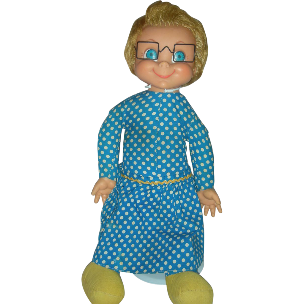 Vintage Mrs Beasley Doll By Mattel Family Affair TV show
