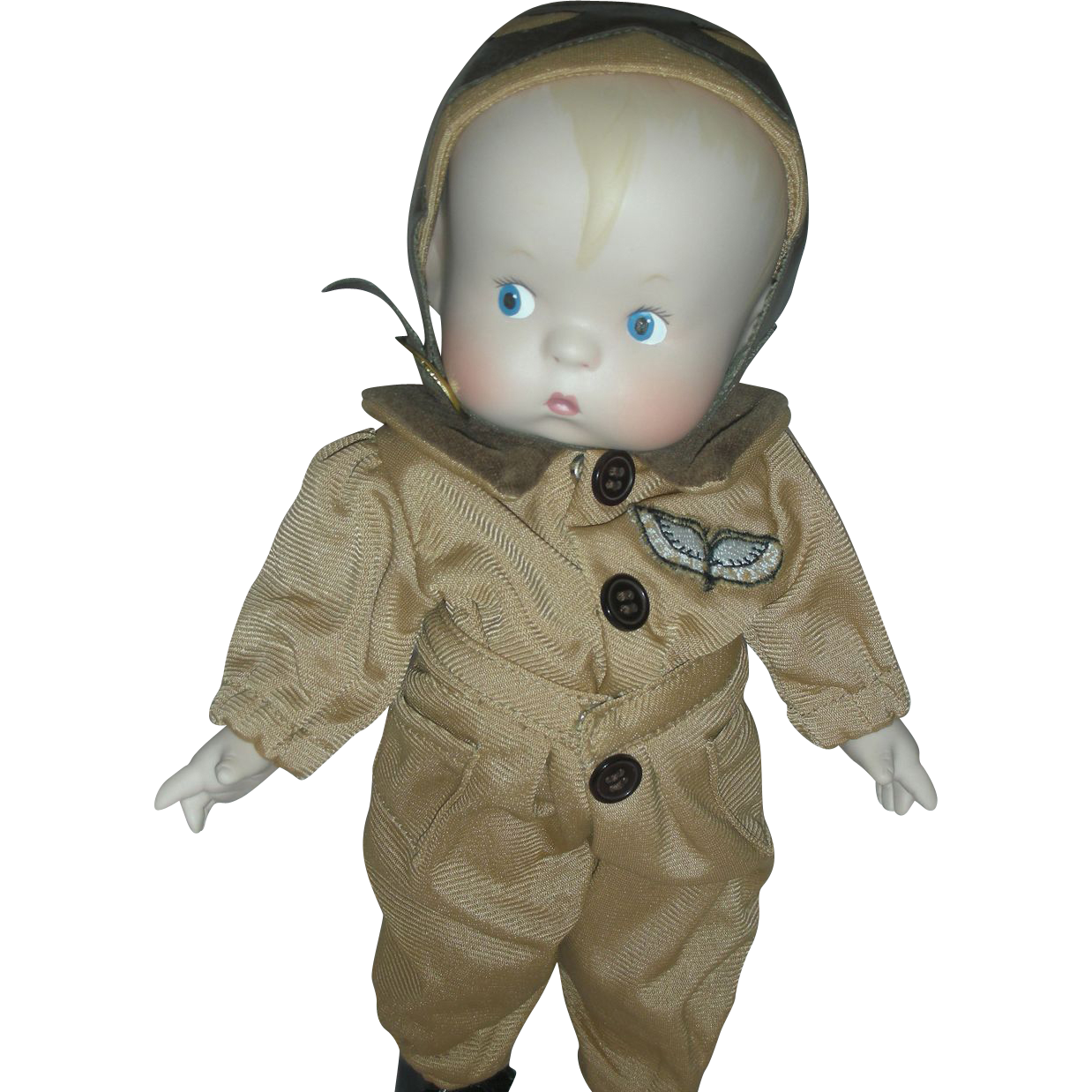 Effanbee Skippy Aviator Bisque Doll