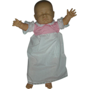 20 Inch vintage Berjusa Spain Baby Doll Pullstring and Moves