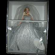 Rare Millennium Bride Barbie Doll NRFB Swarovkski Crystals