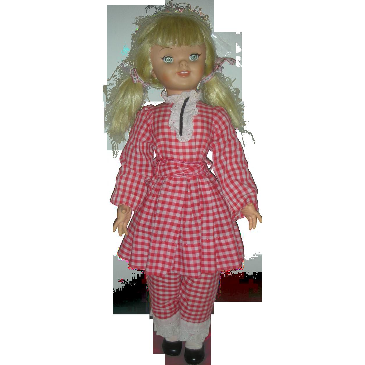 Vintage Uneeda Walt Disney Pollyanna Playpal Doll