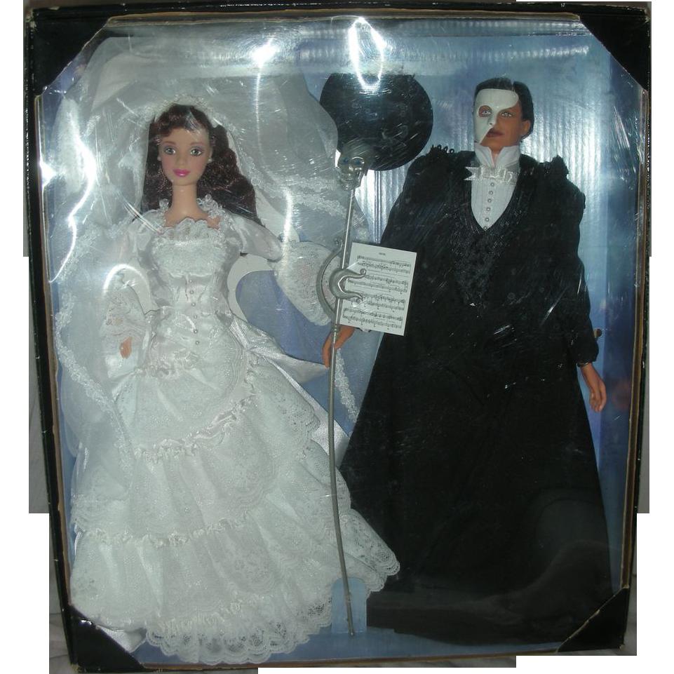 Rare Barbie and Ken The Phantom of the Opera Doll Set FAO Swartz Exclusive