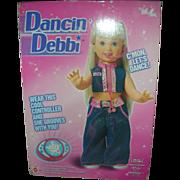 Vintage Mattel Dancin Debbie Doll NRFB Radio Controlled