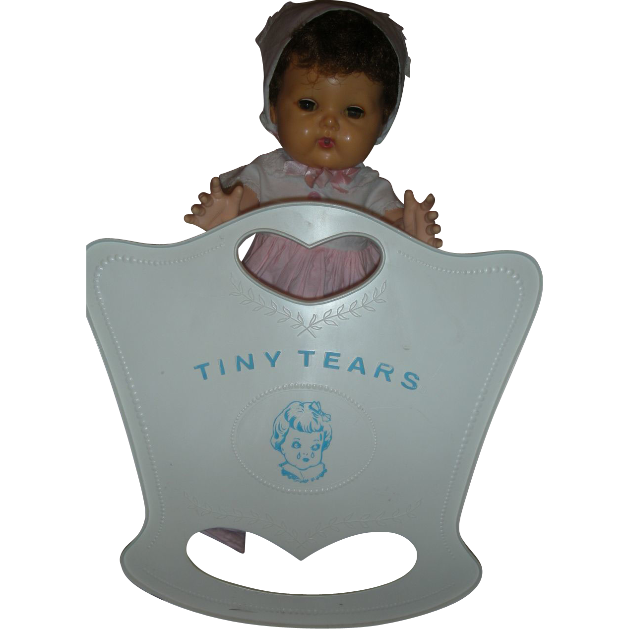 Rare Vintage American Character Tiny Tears Doll Cradle