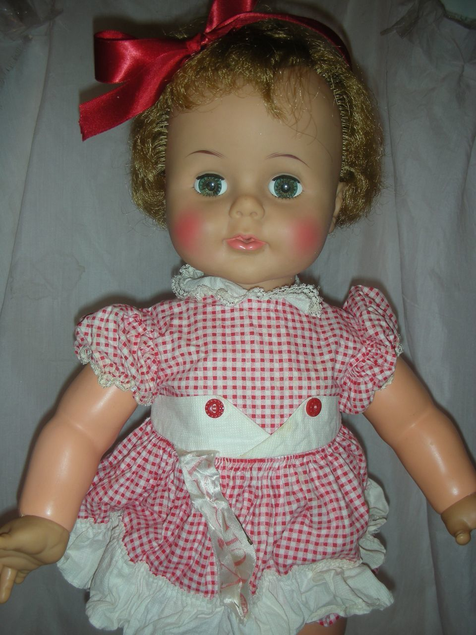 Vintage Ideal Kissy Doll Playpal Family Large 22 Inch Sold