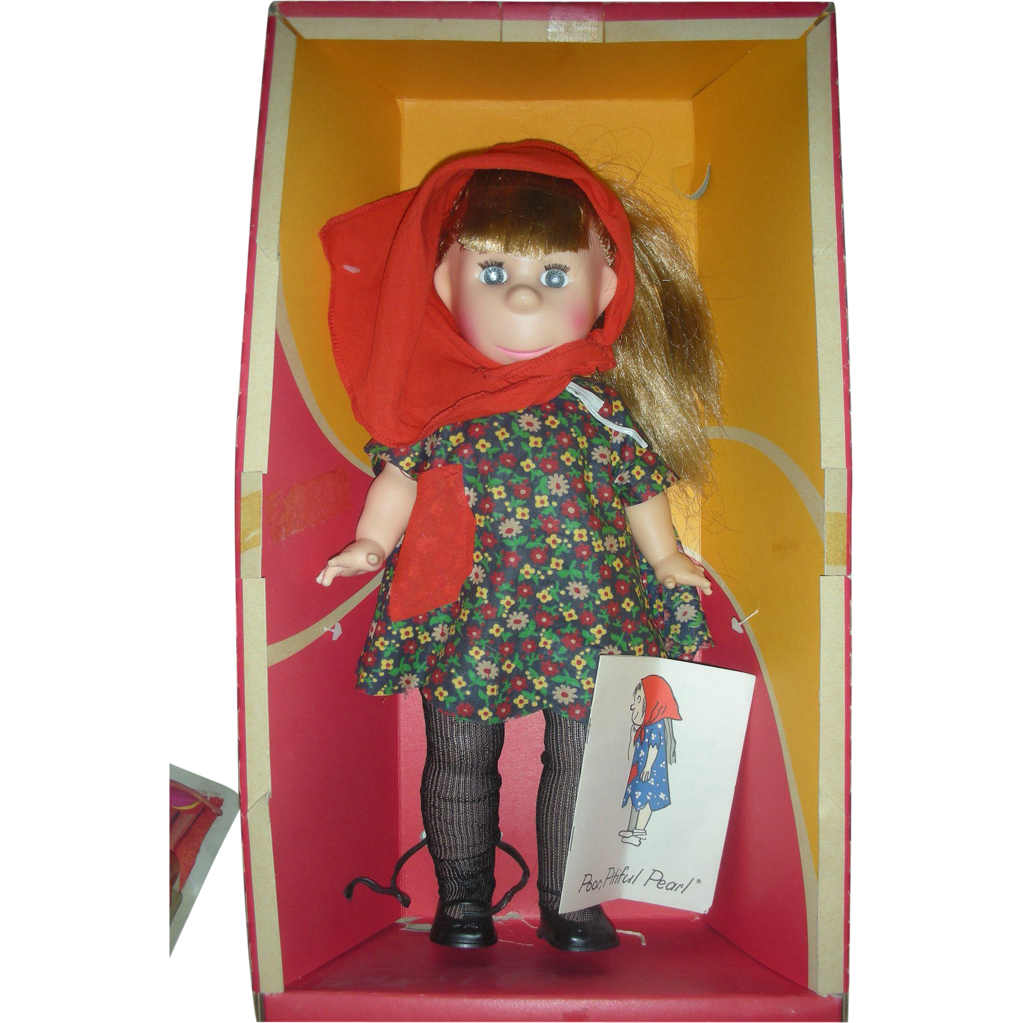 Vintage Horsman Poor Pitiful Pearl Doll in Box 18 inches