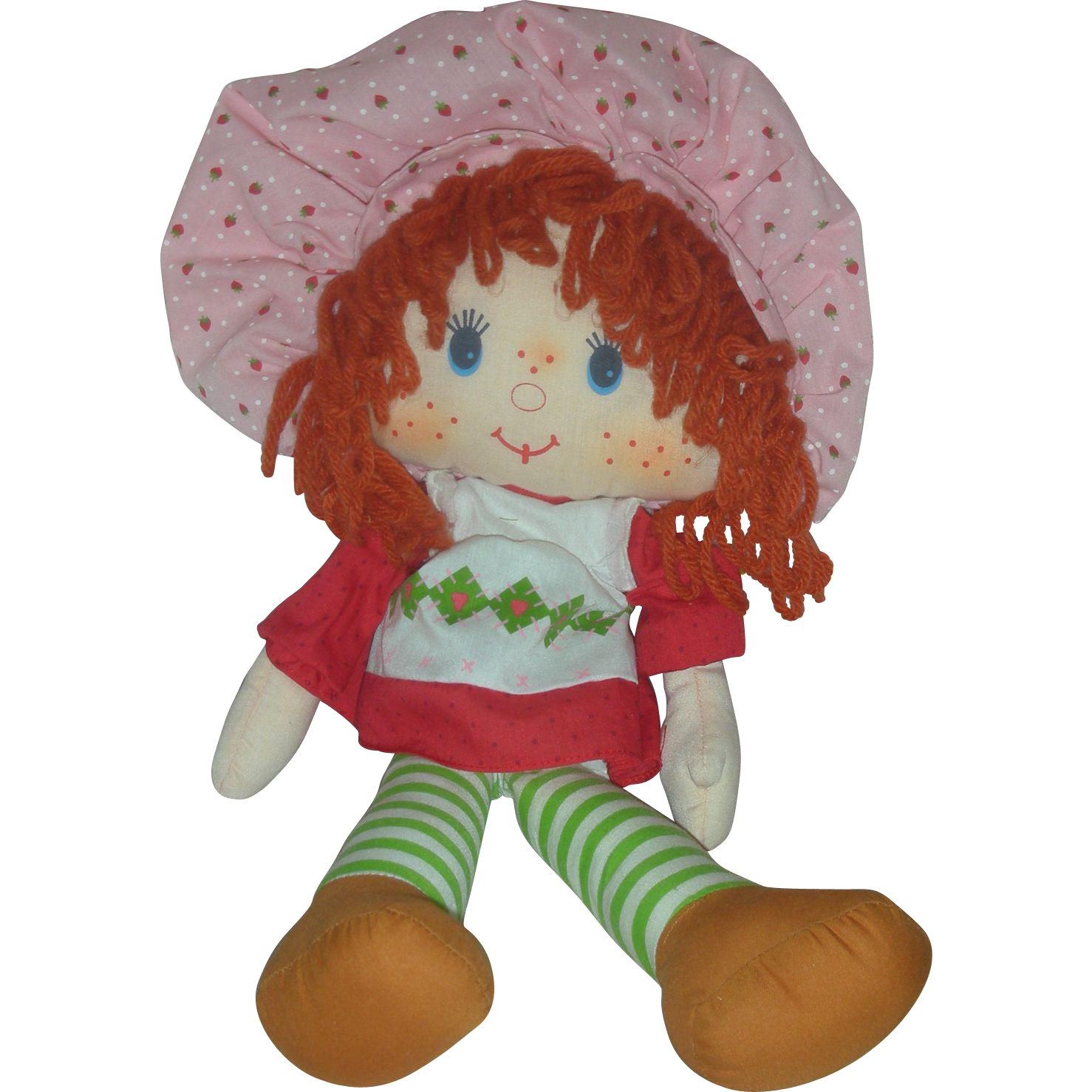 Vintage Kenner Strawberry Shortcake Rag Doll 1980s