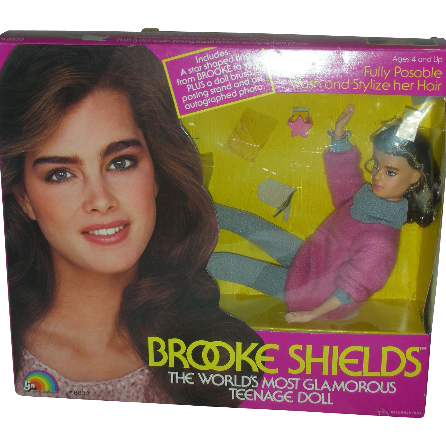 Vintage Brooke Shields Fashion Doll NRFB