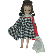 Vintage American Character 8 inch Betsy McCall Doll in Town and Country