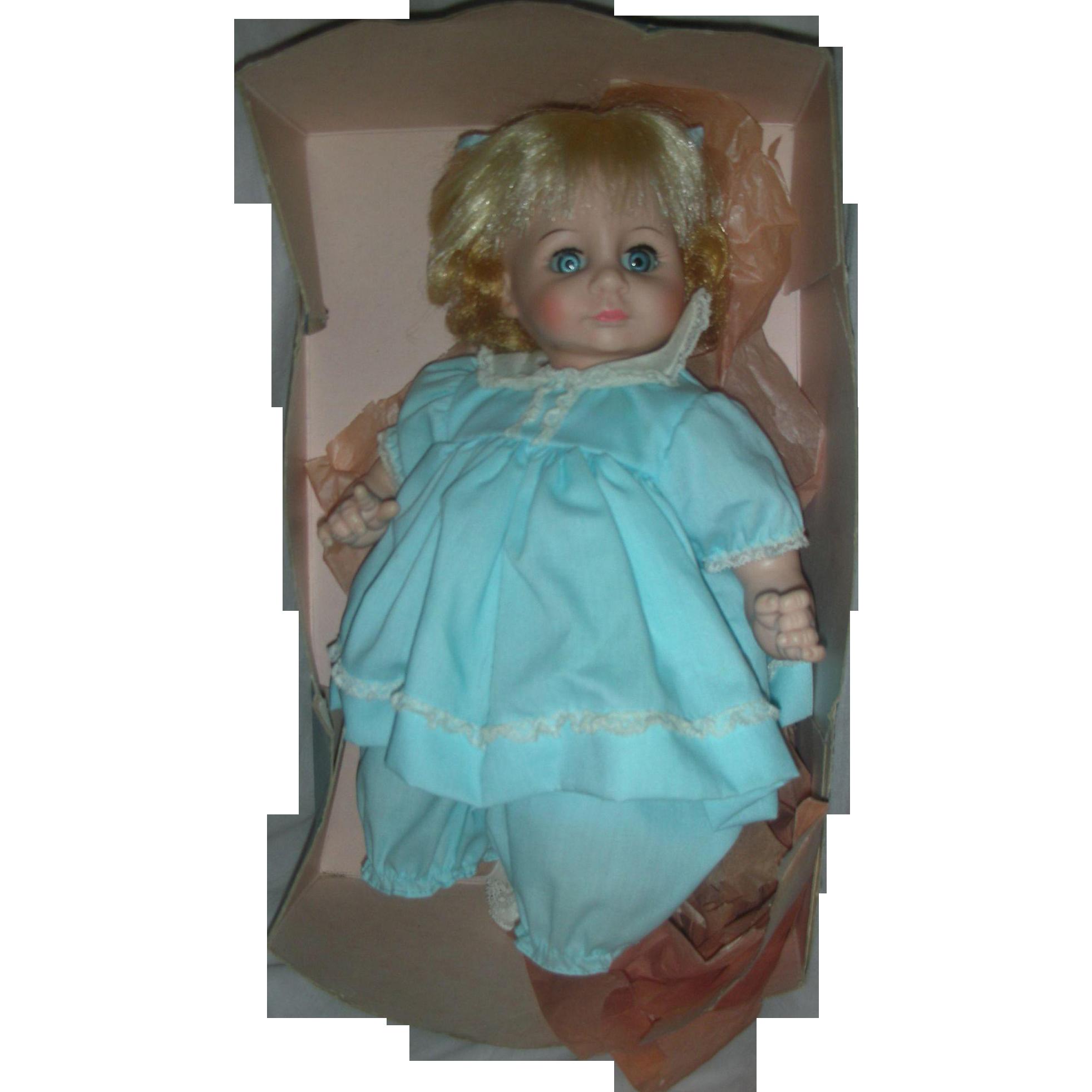 Vintage Madame Alexander Baby Janie Doll in Original Box