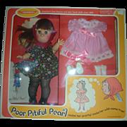 Vintage Horsman Poor Pitiful Pearl Doll Giftset NRFB