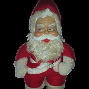 Vintage Rushton Rubber Face Toy Santa Claus