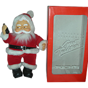 HTF Mint in Box Rich's Coca Cola Santa Claus Rubber Face Doll in Box