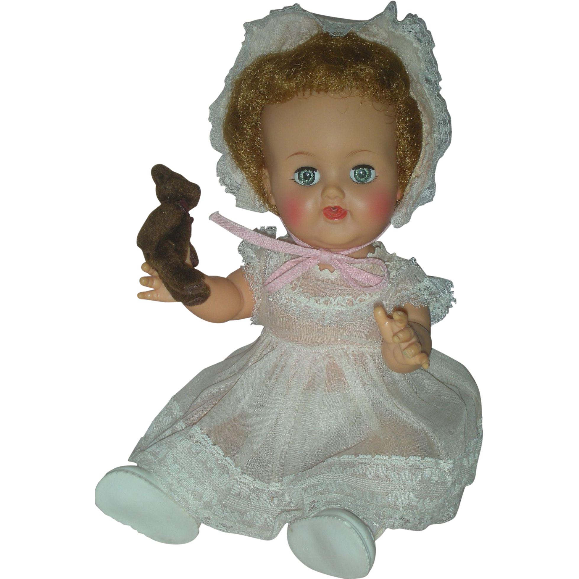 Vintage Ideal Betsy Wetsy Drink and Wet Vinyl Doll