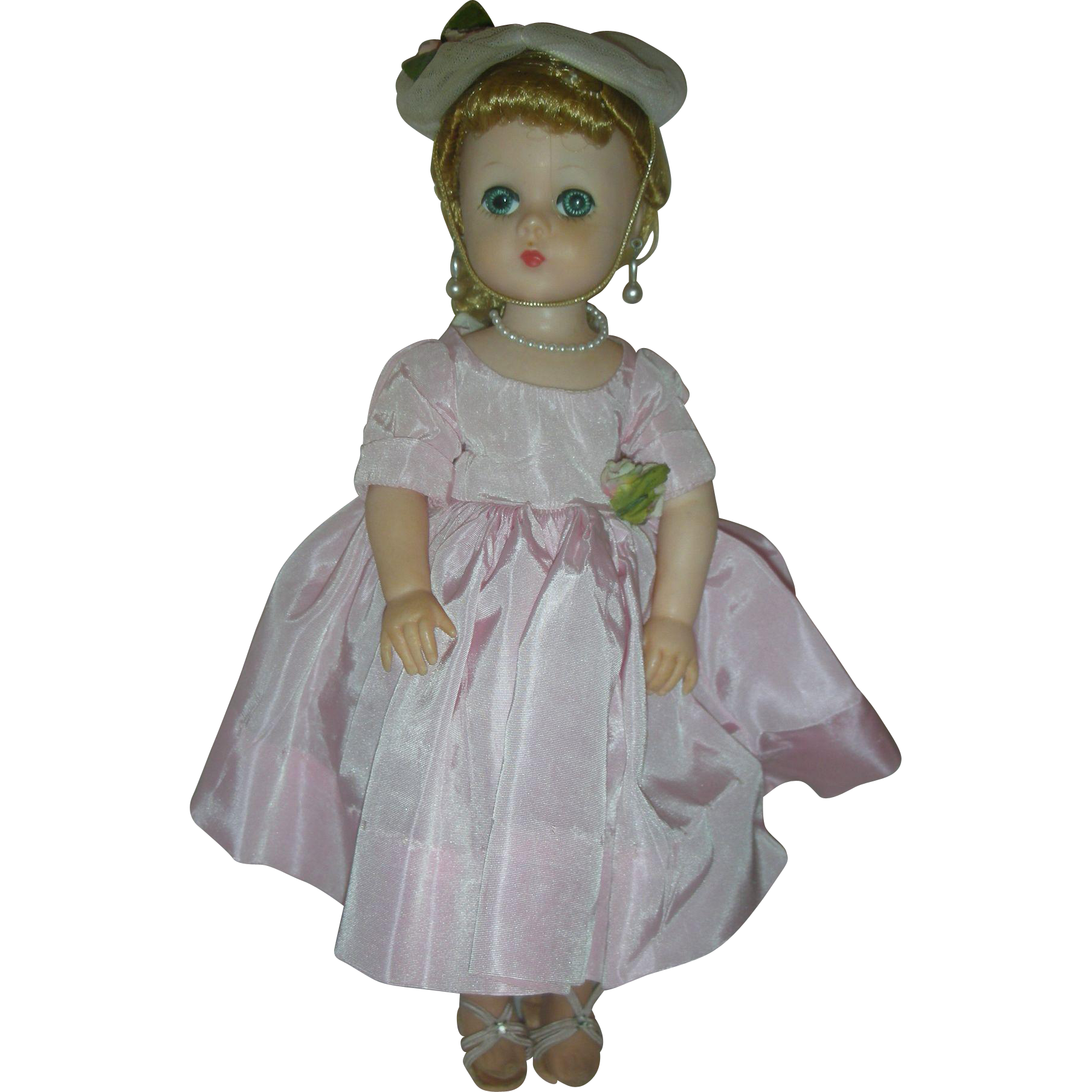 Vintage 1950s Madame Alexander Lissy Doll All Original #1250 An Afternoon Party