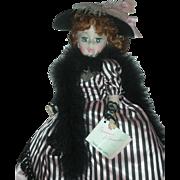 Vintage Madame Alexander Jacqueline 21 Inch Portrait Doll Toulouse Latrec with Hangtag