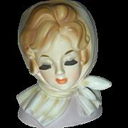 Vintage Inarco Lady Headvase Planter Doll Head Vase